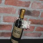 10 småkudde på vinflaska